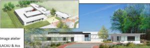 Bâtiment administratif – GDF SUEZ – Germigny sous Coulomb (77) pour Auxitec